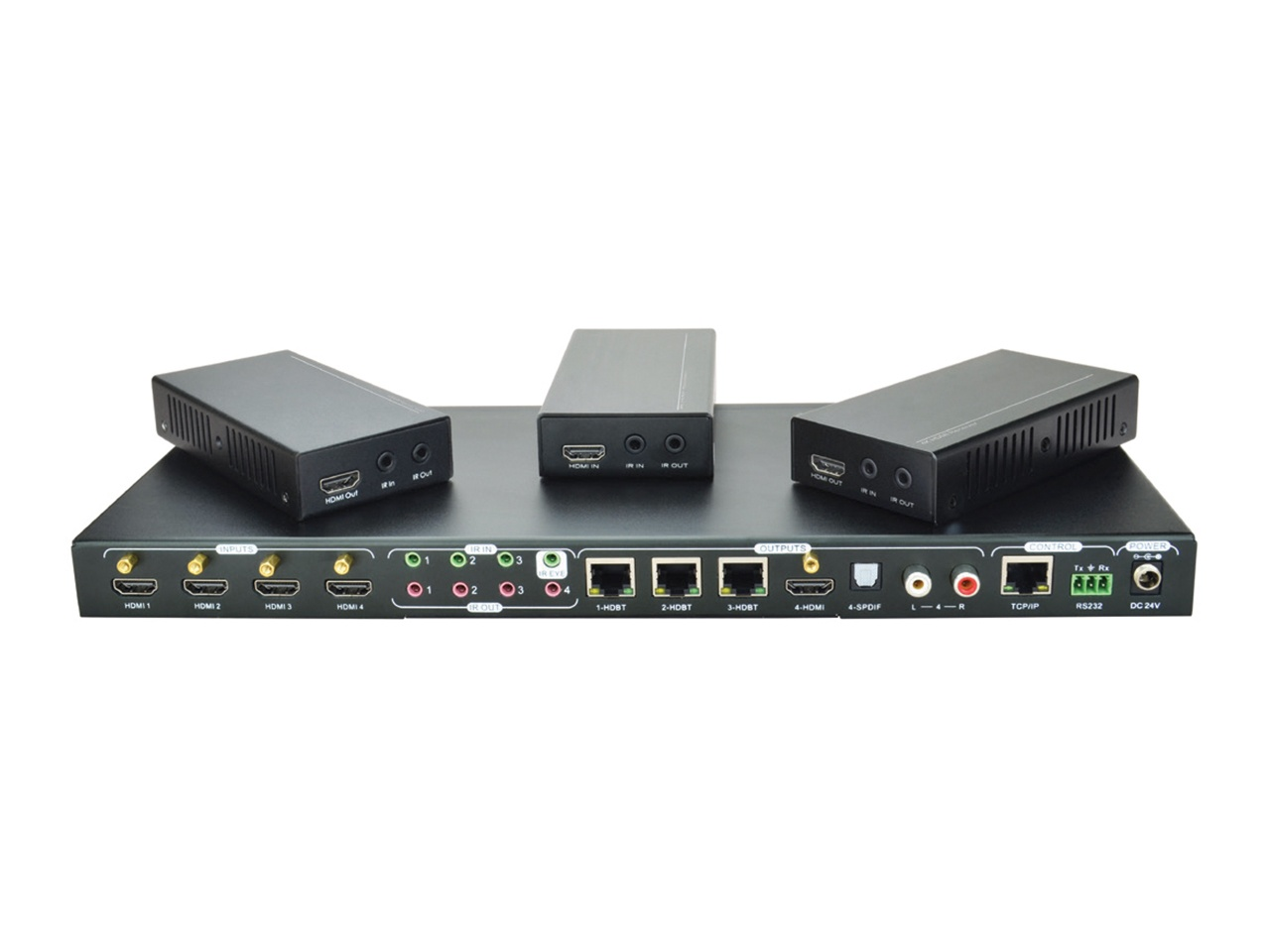 Disztributor HDBaseT 4K VL120020 1 Vizuáltechnika bolt