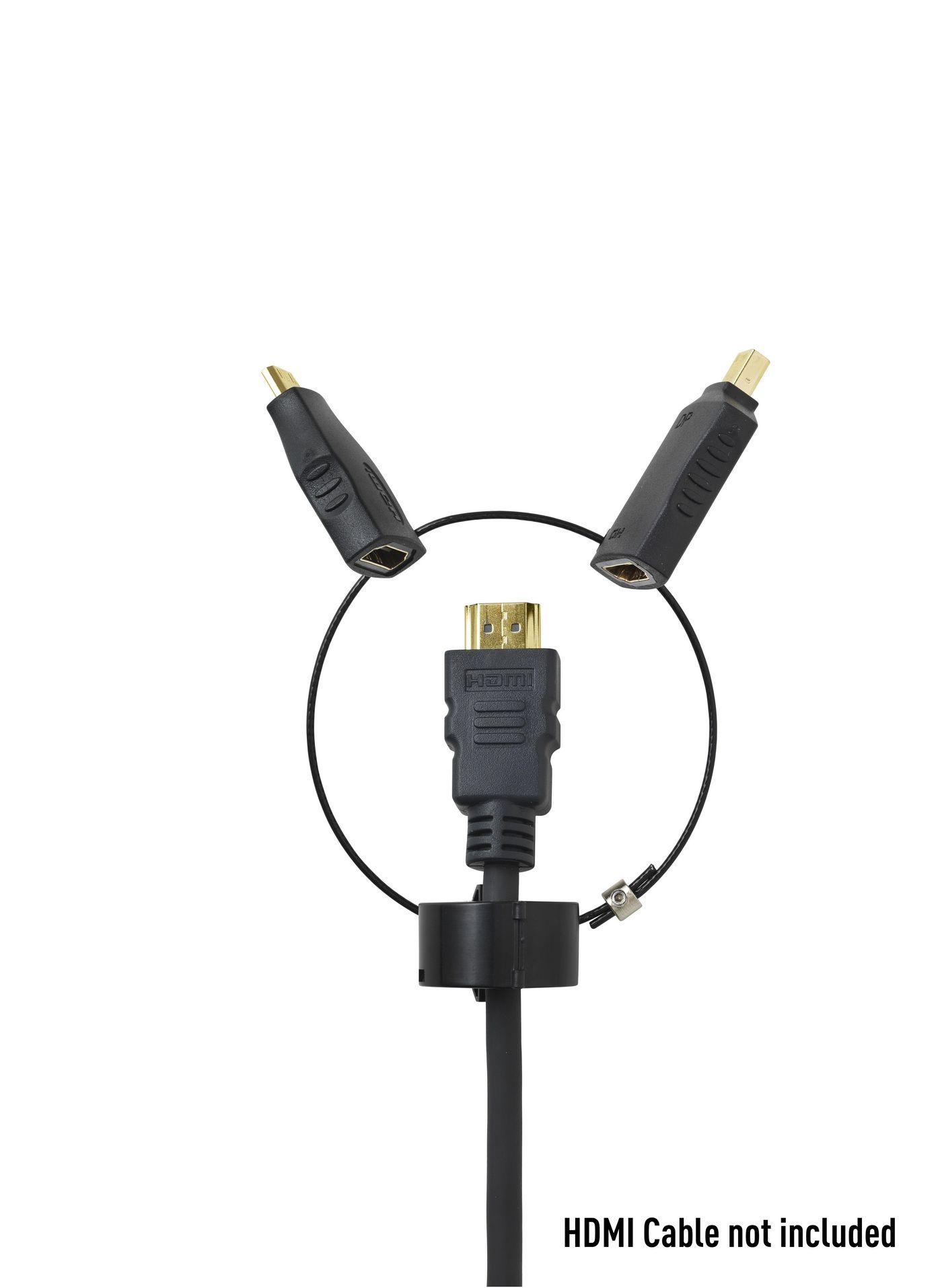 Standard adaptergyűrű 2: mini HDMI, micro HDMI csatlakozó átalakító