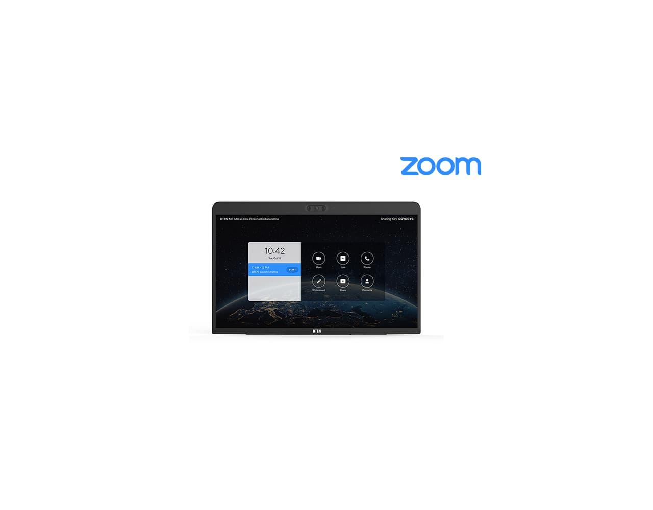 Daten ME interaktív érintőképernyő ZOOM alkalmazással.