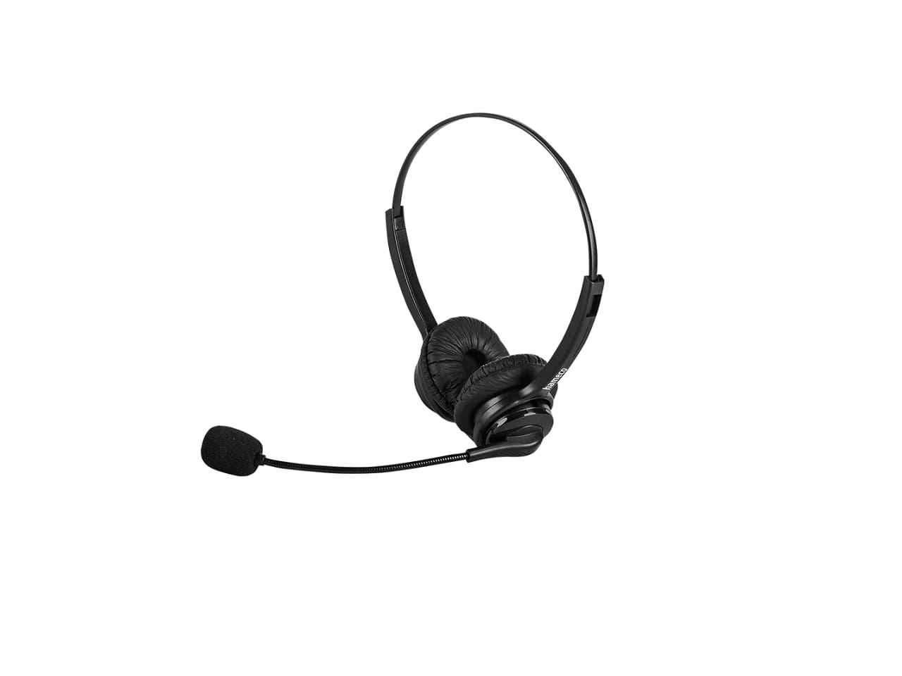 Hameco call center headset, fejhallgató, vezetékes fejhallgató mikrofonnal.