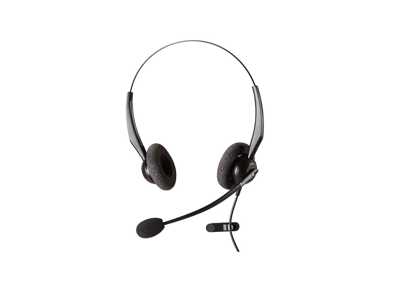 Hameco vezetékes headset fejhallgató mikrofonnal