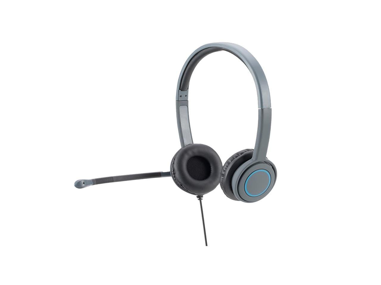 Hameco vezetékes fejhallgató, headset