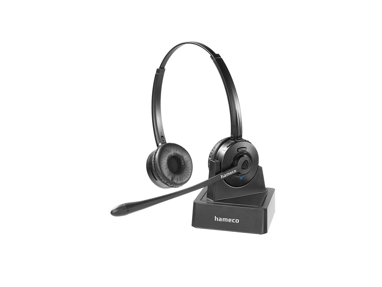 Hameco vezeték nélküli headsetmfejhallgató mikrofonnal