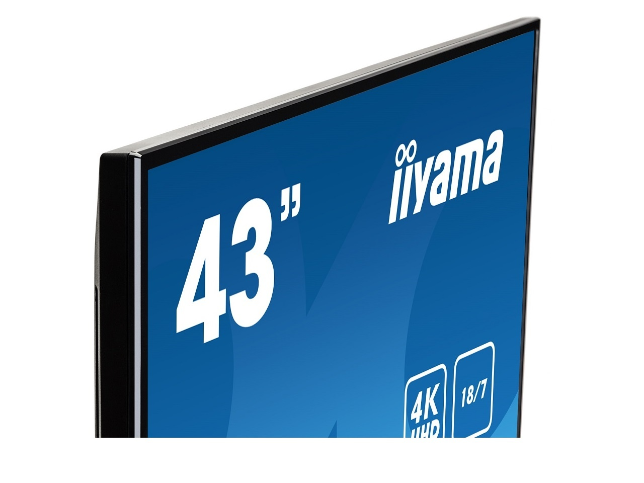 """18/7 digital signage kijelző, 43"""" megjelenítő"""
