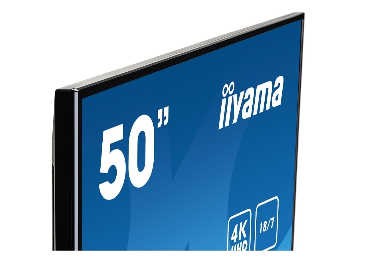 """18/7 digital signage kijelző, 50"""" megjelenítő"""