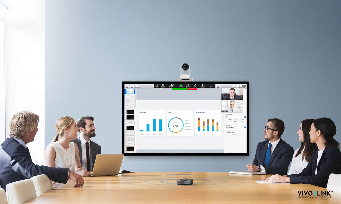Videokonferencia szett 2 Vizuáltechnika bolt